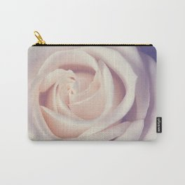 An Offering White Rose Carry-All Pouch