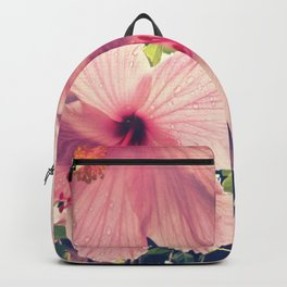Hibiscus in the Rain Backpack