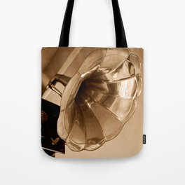 Antique Vintage Gramophone Gifts Music Lovers Tote Bag