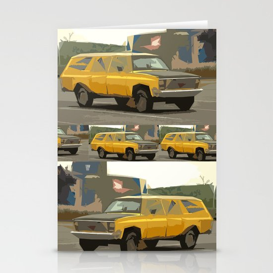 Eric's New Age Suburban Dream Stationery Cards