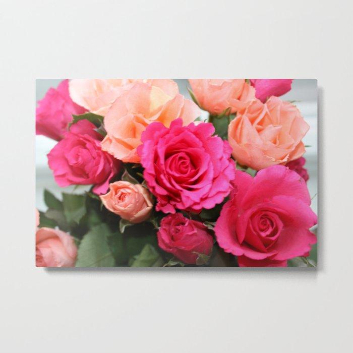 Fleurs Metal Print