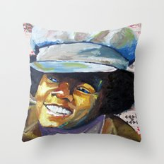 Young Mike Throw Pillow