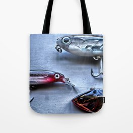 Time to Fish, Freshwater Fishing Tote Bag
