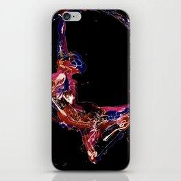 Splatter Hoop Dark iPhone Skin