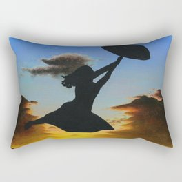Sunset Sail Rectangular Pillow