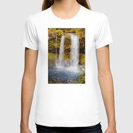 Koosah Falls Autumn Canvas Print, Photographic Print, Art Print, Framed Print, Greeting Card, iPhone T-shirt