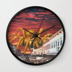 It Came From The Desert Wall Clock