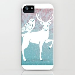 Winter In The White Woods iPhone Case