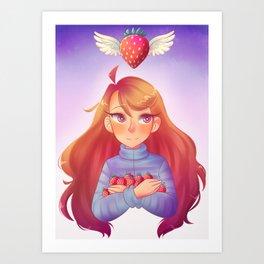 Madeline (Celeste) Art Print