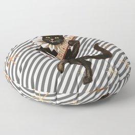 cat in Boots Floor Pillow