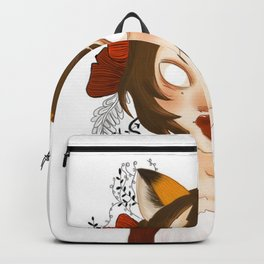 fox lady Backpack