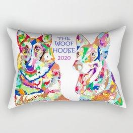 The Woof House 2020 Rectangular Pillow