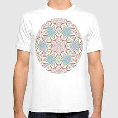 geometry Mens Fitted Tee MEDIUM White