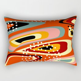 Spots and dots Rectangular Pillow