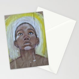 paper bag series #1 - god's here Stationery Cards