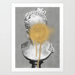 Busted 1 Art Print