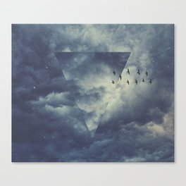 sky forms Canvas Print