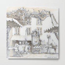 Place en France, Cassis Metal Print