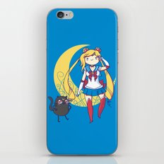 Adventure Moon iPhone & iPod Skin