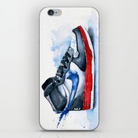 nike iPhone & iPod Skins featuring Nike dunk by istraille