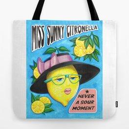 MISS SUNNY CITRONELLA Tote Bag