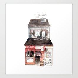 Restaurant Kunstdrucke