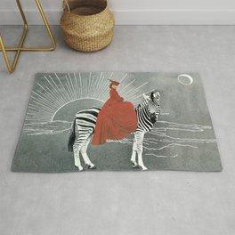 My zebra and I Rug