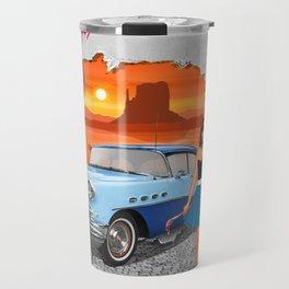 Rockabilly Street Art Travel Mug