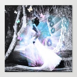 Lady Butterfly Canvas Print