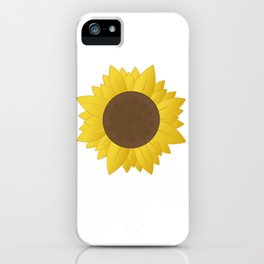 Midwest Sunflower iPhone Case