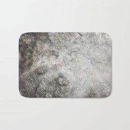 Pockets of Salt on the Rocks by the Sea Bath Mat