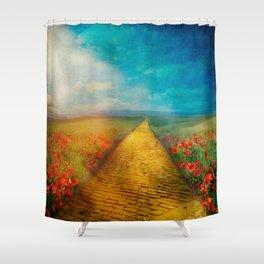 My Yellow Brick Road Shower Curtain