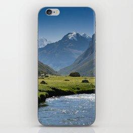 Quebrada Cojup iPhone Skin