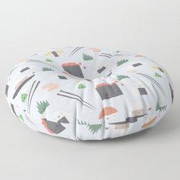Happy Sushi Floor Pillow