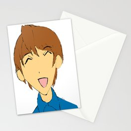 simple girl Stationery Cards