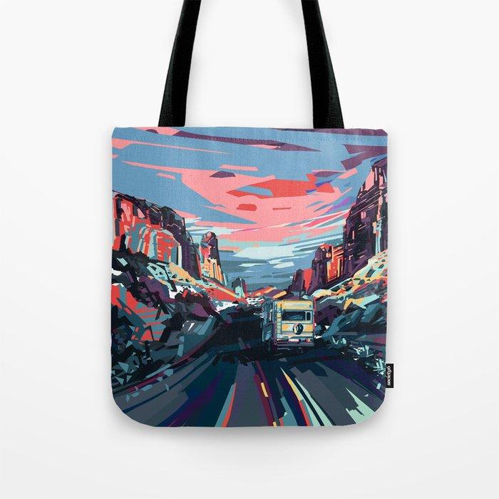 american landscape 4 Tote Bag