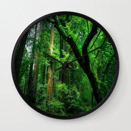 Enchanted forest mood II Wall Clock