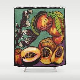 Nectarines 1 Shower Curtain