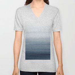 Ocean Watercolor Painting No.2 Unisex V-Neck
