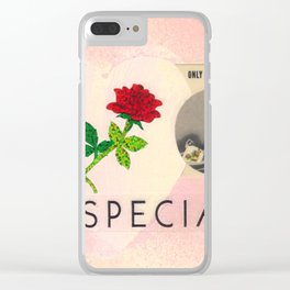 For A Special Mad Man Clear iPhone Case