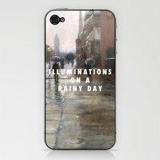 Reckless Rain iPhone & iPod Skin