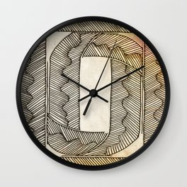 Meer Corners Wall Clock