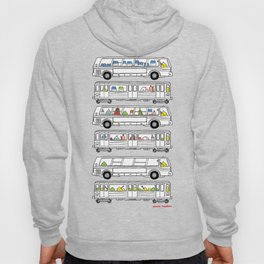 """""""Pop and Pals: Commuting""""  Hoody"""