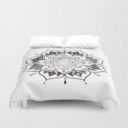 Namaste Nebula Mandala Design Duvet Cover