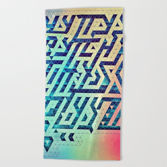 hyttys bytch 'n thys plyyz Beach Towel