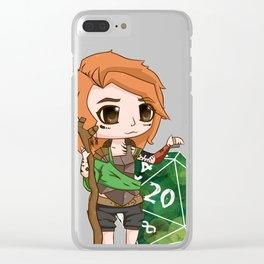 Effie – Halfling Druid Clear iPhone Case