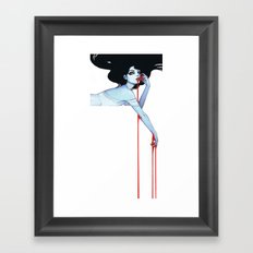 Vamp V.2 Framed Art Print