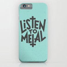 Listen To Metal, V2 iPhone 6s Slim Case