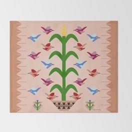 Gift of Corn Throw Blanket