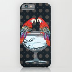 parrots on the cup of glass iPhone 6s Slim Case